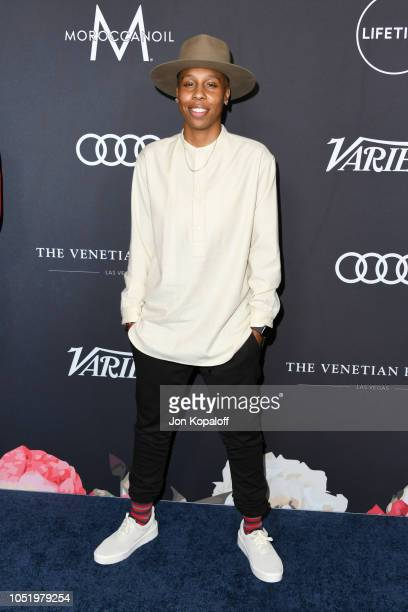 Lena Waithe attends Variety's Power Of Women Los Angeles at the Beverly Wilshire Four Seasons Hotel on October 12 2018 in Beverly Hills California