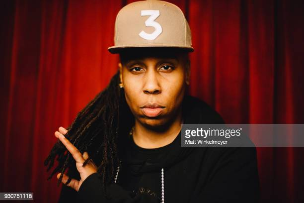 Lena Waithe poses for a portrait at the Ready Player One Premiere 2018 SXSW Conference and Festivals at Paramount Theatre on March 11 2018 in Austin...