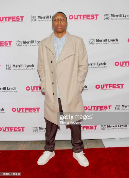 Lena Waithe speaks onstage at the 13th Annual Outfest Legacy Awards Vibiana on October 28 2018 in Los Angeles California