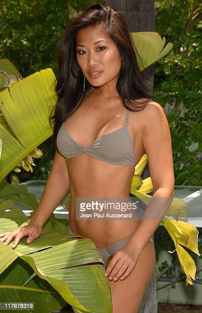 Lena Yada wearing LSpace during 2007 Silver Spoon MTV Movie Awards Gifting Suite Day 2 in Los Angeles California United States Photo by JeanPaul...