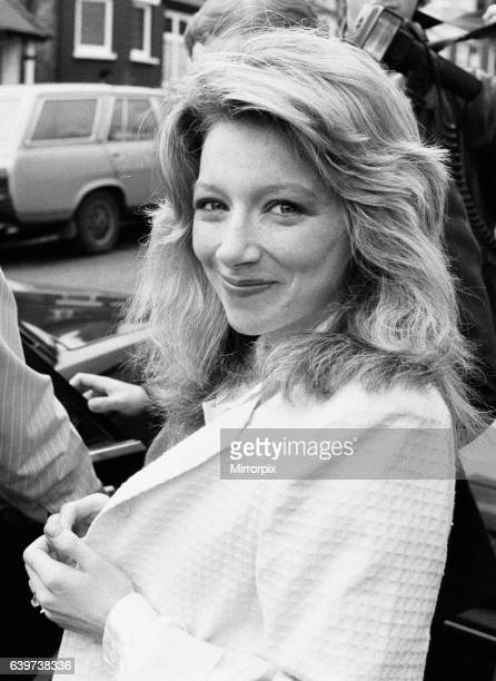 Lena Zavaroni, aged 23, June 1987. Lena recently left hospital after some anti depressant pills she was taking, made her violently ill. Lena ws...