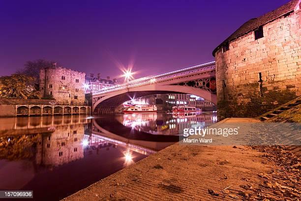 Lendal Bridge Autumn Night