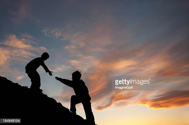 Durch eine helfende Hand zu Brother-In erforderlich