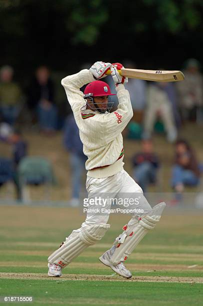 Lendl Simmons batting during his innings of 108 not out for West Indies A in the tour match against Pakistan at the Denis Compton Oval Shenley 12th...