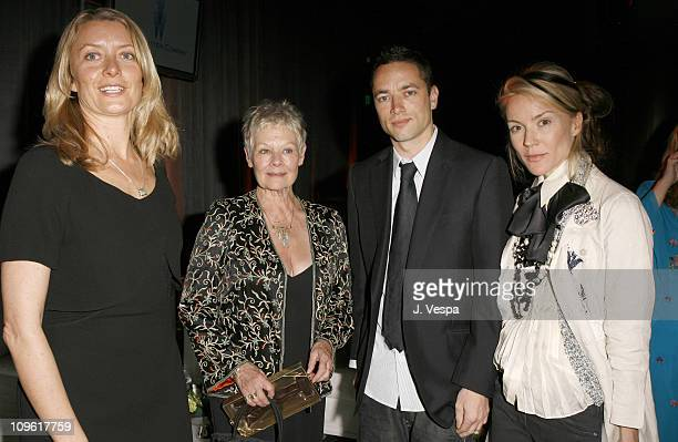 Lene Bausager Dame Judi Dench Sean Ellis and Daphne Guinness