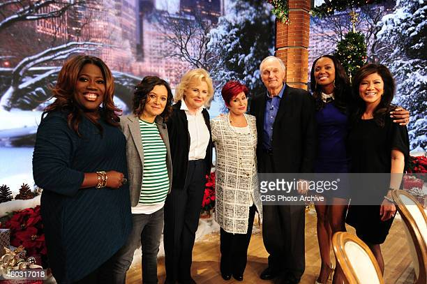 Lengendary actors Candice Bergen and Alan Alda discuss their Broadway play Love Letters on The Talk in New York on Tuesday Dec 9 2014 on the CBS...