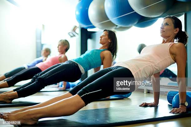 Lengthen and strengthen your body with pilates