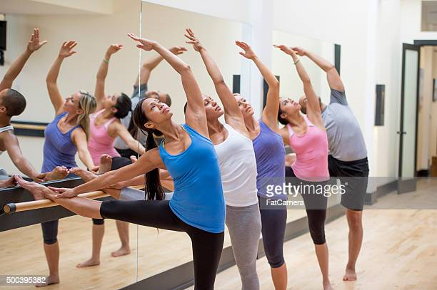 Lengthening During a Barre Workout