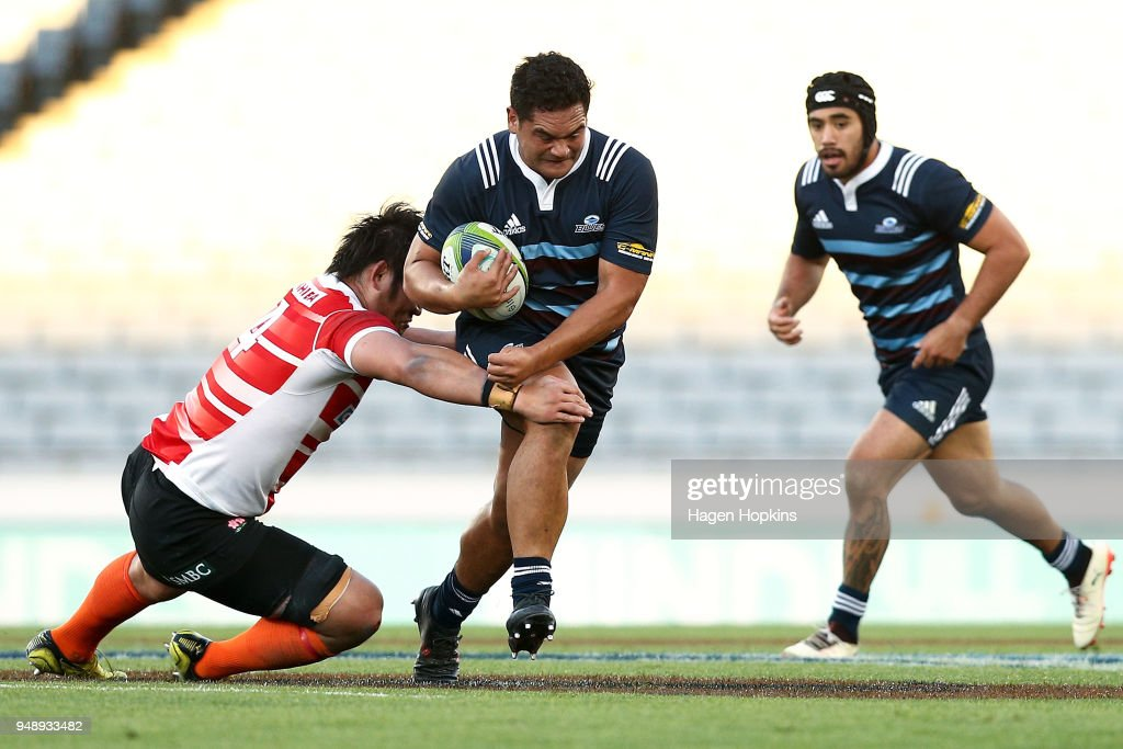 Super Rugby Rd 10 Curtain Raiser - Blues A v Japan A