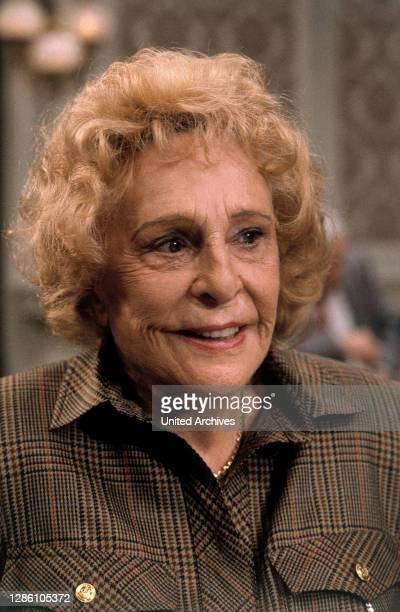 Leni Riefenstahl, Porträt, 1990. / deutsche Regisseurin, Schauspielerin und Produzentin.