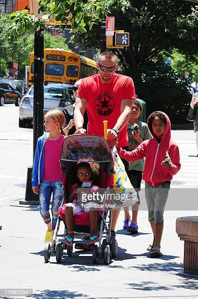 Leni Samuel Lou Samuel Martin Kristen and Henry Samuel are seen on June 19 2013 in New York City