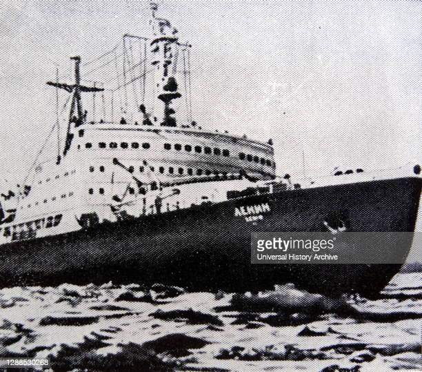 Lenin' a Soviet nuclear-powered icebreaker. Launched in 1957, it was both the world's first nuclear-powered surface ship and the first...