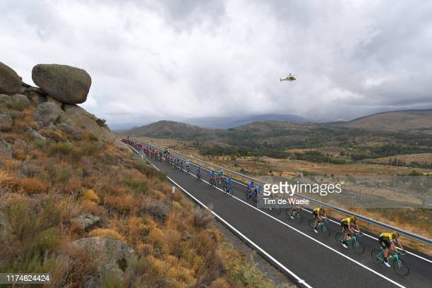 Lennard Hofstede of The Netherlands and Team Jumbo-Visma / Amanuel Ghebreigzabhier Werkilu of Eritrea and Team Dimension Data / Neilson Powless of...