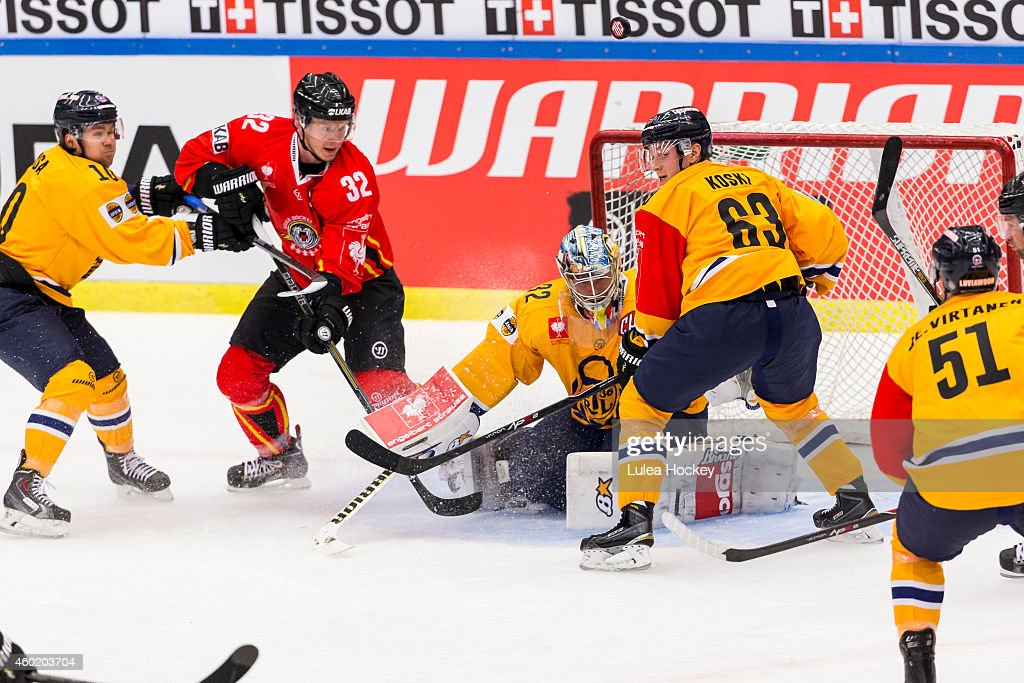 Lulea Hockey v Lukko Rauma - Champions Hockey League Quarter Final