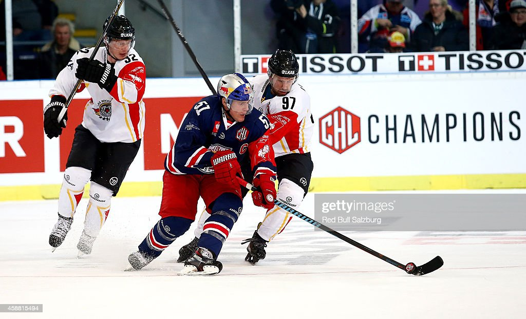 Red Bull Salzburg v Lulea Hockey - Champions Hockey League Round of 16