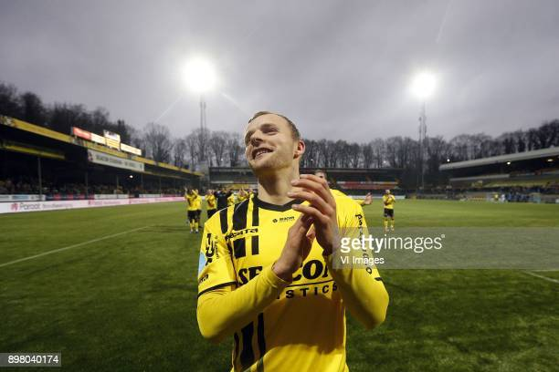 Lennart Thy of VVVVenlo during the Dutch Eredivisie match between VVV Venlo and Heracles Almelo at Seacon stadium De Koel on December 24 2017 in...