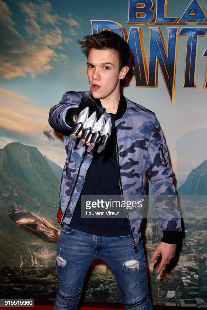 Lenni Kim attends 'Black Panther' Special Screening at Le Grand Rex on February 7 2018 in Paris France