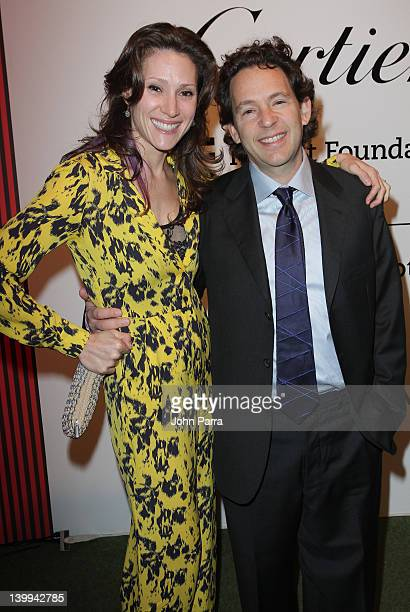 Lenni Sender and Adam Sender attends as Cartier sponsors the MOCA North Miami 15th Anniversary celebration at the Museum of Contemporary Art on...