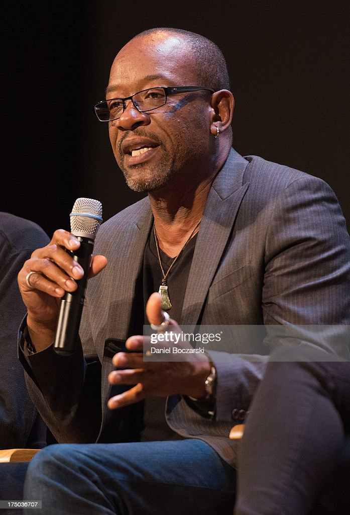Lennie James attends AMC's 'Low Winter Sun' cast Q&A with Art House Convergence on July 29, 2013 in Ann Arbor, Michigan.