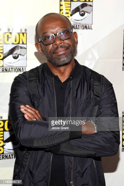 Lennie James attends the Fear the Walking Dead Panel at Comic Con 2019 on July 19, 2019 in San Diego, California.