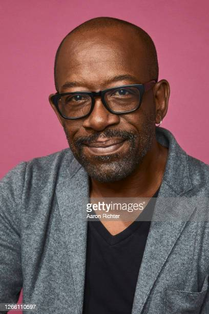 Lennie James of 'Fear the Walking Dead' poses for a portrait during the Pizza Hut Lounge at 2019 Comic-Con International: San Diego on July 18, 2019...