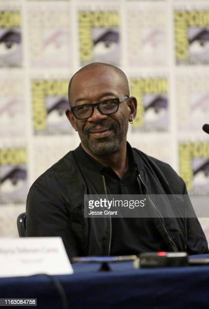 Lennie James speaks at the Fear The Walking Dead Press Conference at Comic Con 2019 on July 19, 2019 in San Diego, California.