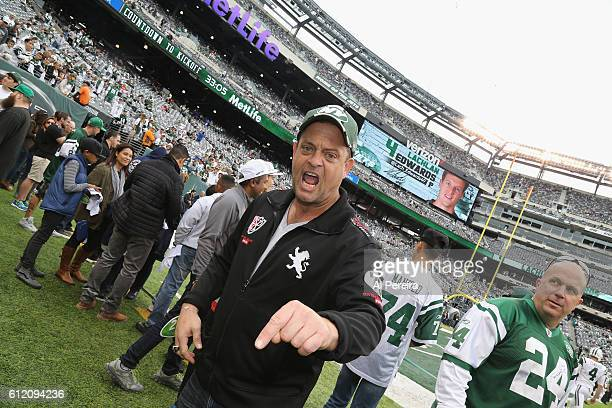 Lennie Venito attends the New York Jets versus Seattle Seahawks game at MetLife Stadium on October 2 2016 in East Rutherford New Jersey