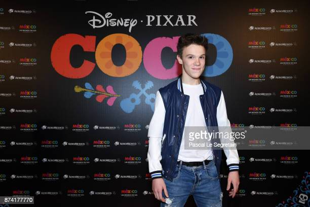 LenniKim attends the 'Coco' Paris Special Screening at Le Grand Rex on November 14 2017 in Paris France