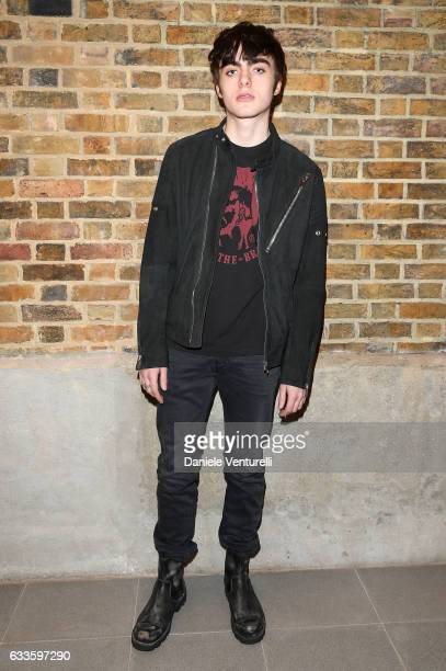 Lennon Gallagher attends Dylan Jones and Marco Bizzarri host a cocktail party to launch new film series 'The Performers' at the Serpentine Sackler...
