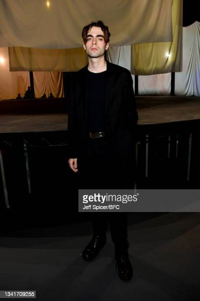 Lennon Gallagher attends the COS show at The Roundhouse during London Fashion Week September 2021 on September 21, 2021 in London, England.