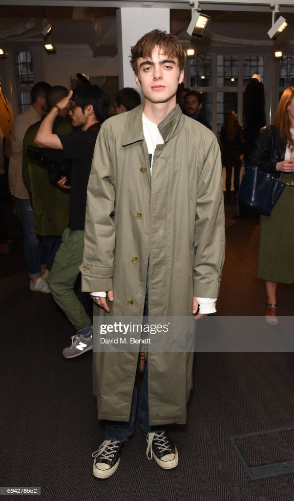 Lennon Gallagher attends the dunhill London presentation during the London Fashion Week Men's June 2017 collections on June 9, 2017 in London, England.