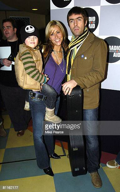 Lennon Gallagher Nicole Appleton and Liam Gallagher