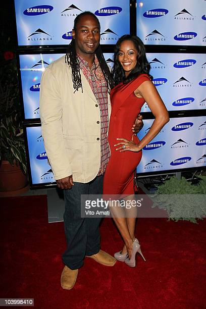 Lennox and Violet Lewis attend the The Alliance Party during the 2010 Toronto Film Festival at South of Temperance on September 11 2010 in Toronto...