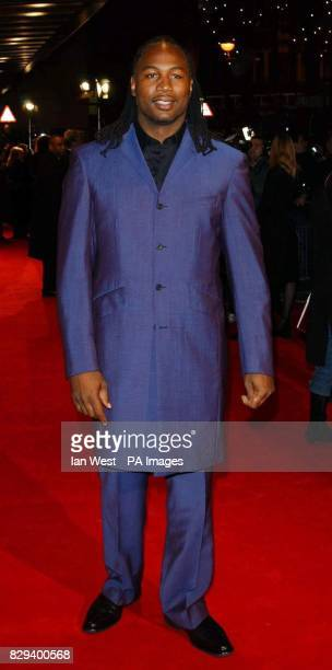 Lennox Lewis arrives for the UK Music Hall Of Fame live final at the Hackney Empire in east London The Channel 4 series looking at popular music from...