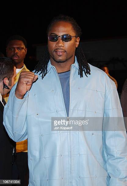 Lennox Lewis arriving at the Official TipOff to NBA AllStar 2004 Entertainment American Express Celebrates the Rewarding Life of Earvin Magic Johnson...