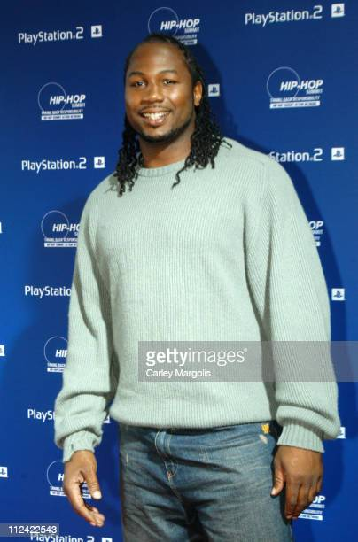 Lennox Lewis during Sony Playstation 2 Teams with Russel Simmons and the HipHop Summit Action Network to 'Race to the Polls' Arrivals at Hammerstein...