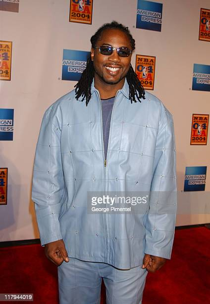 Lennox Lewis during TNT Sports Presents the American Express 'Magic' Johnson All Star Celebration at Shrine Auditorium in Los Angeles California...