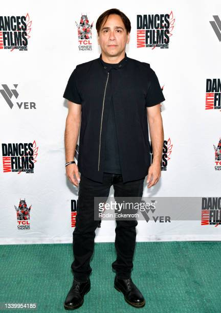 """Lenny Dee attends the Closing Night of Dances with Film Festival with premiere of """"Mister Sister"""" at TCL Chinese Theatre on September 12, 2021 in..."""