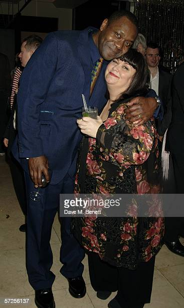 Lenny Henry and Dawn French attend the after show party following the West End transfer and press night of the Lyric Theatre production of 'Smaller'...