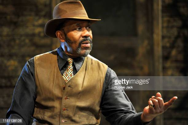 Lenny Henry as Elmore in August Wilson's King Hedley II directed by Nadia Fall at Theatre Royal Stratford East on May 22 2019 in London England