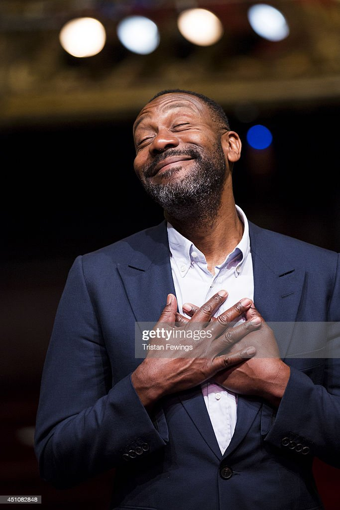 Lenny Henry attends a photocall for 'Rudy's Rare Records' at Hackney Empire on June 23, 2014 in London, England.