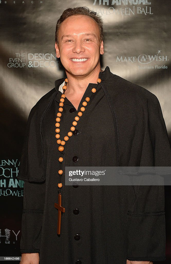 Lenny Hochstein attends Lisa Hochstein of 'Real Housewives of Miami' and Lenny Hochstein's Halloween Ball benefitting the Make-A-Wish Foundation on November 1, 2013 in Miami Beach, Florida.
