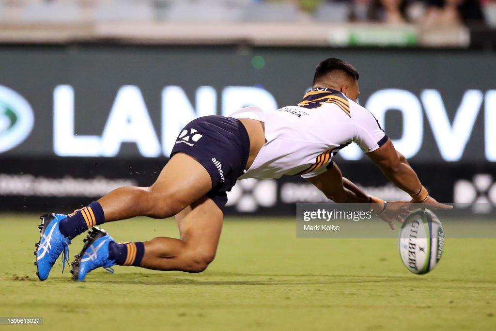Super Rugby AU Rd 3 - Rebels v Brumbies : News Photo