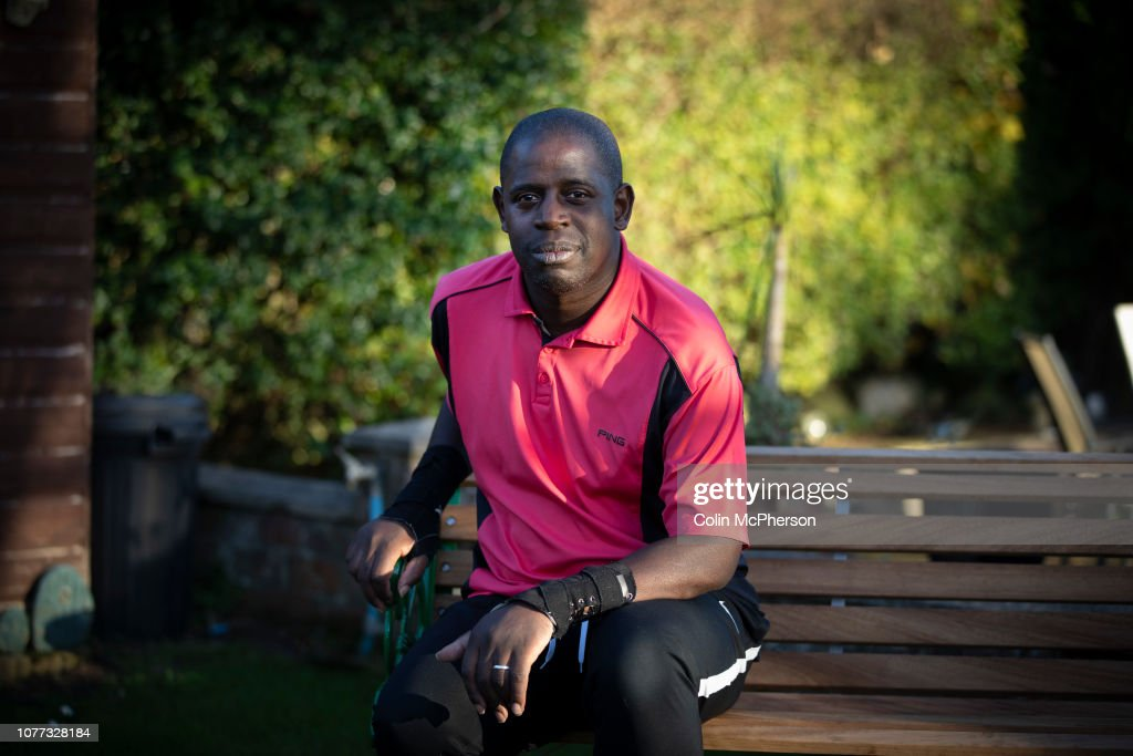 Former Professional Footballer Lenny Johnrose : News Photo