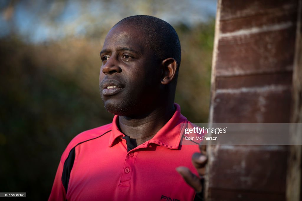 Former Professional Footballer Lenny Johnrose : News Photo