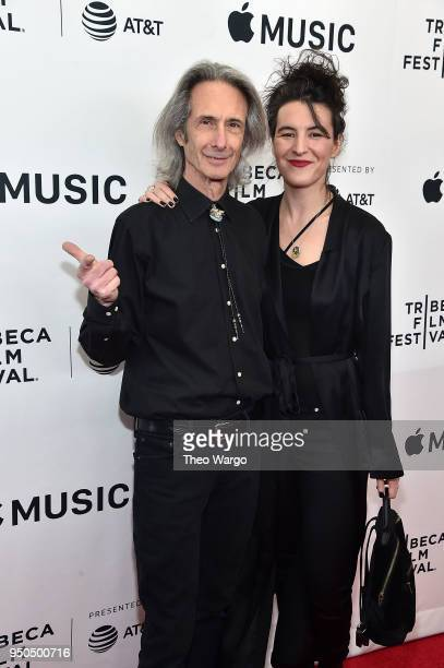 Lenny Kaye and Jesse Smith attend Horses Patti Smith and Her Band 2018 Tribeca Film Festival at Beacon Theatre on April 23 2018 in New York City