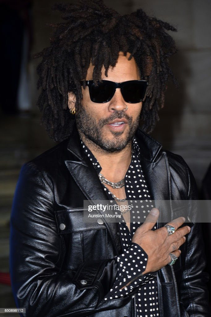 Lenny Kravitz arrives to the opening season gala at Opera Garnier on September 21, 2017 in Paris, France.