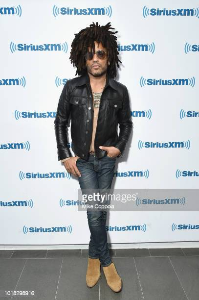 Signage seen at SiriusXM's Town Hall With Lenny Kravitz on August 17 2018 in New York City