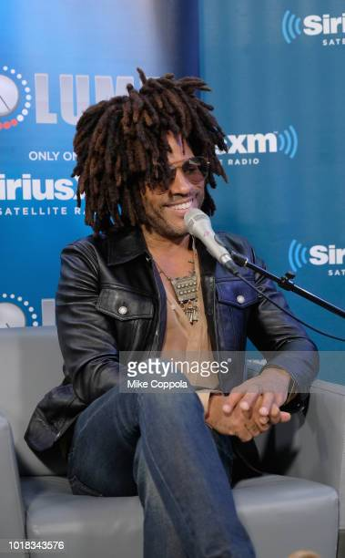 Lenny Kravitz attends SiriusXM's Town Hall With Lenny Kravitz on August 17 2018 in New York City