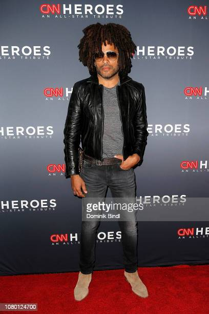 Lenny Kravitz attends the 12th Annual CNN Heroes An AllStar Tribute at American Museum of Natural History on December 09 2018 in New York City